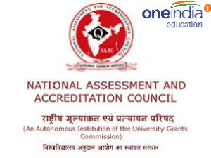Fresh accreditation granted by NAAC