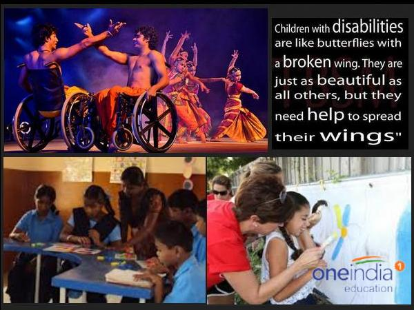Art, dance Edu'n for Differently abled