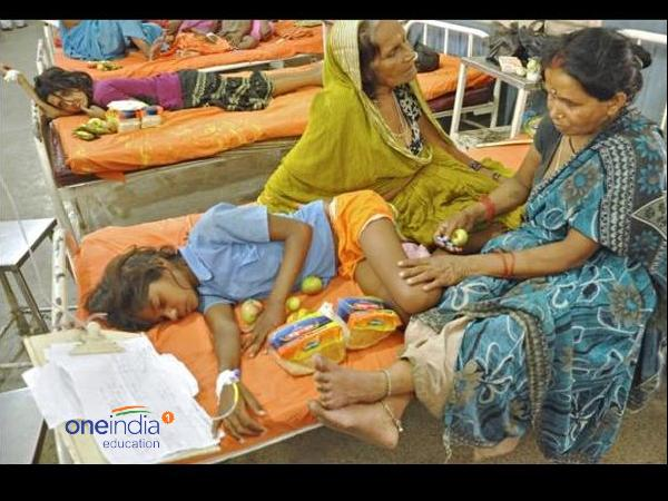 Schools mid day meal kills children