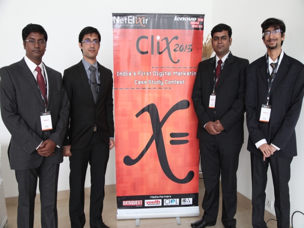 IMT, Hyderabad won NetElixir Clix 2013