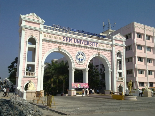 Department of Computer Applications, SRM University, Chennai