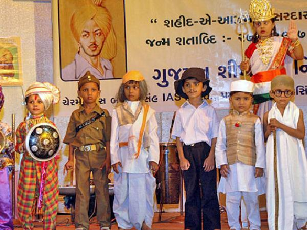 Children dress like great leaders