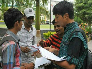 Engineering students unsure about future
