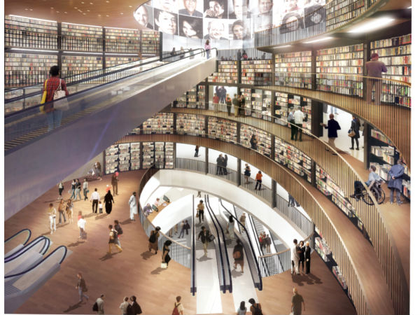 Birmingham opens largest public library