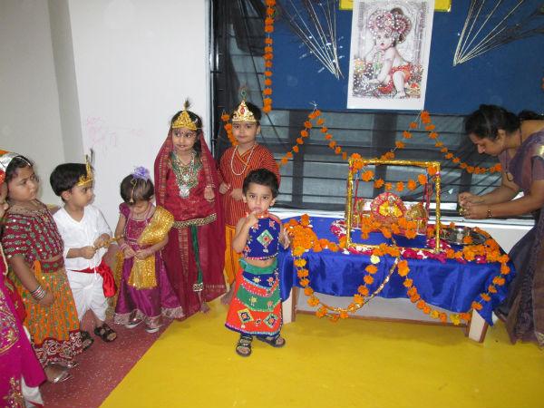 AG8 preschool celebrates Janamashtami