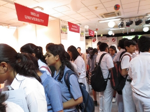 Japan Education Fair 2013 in Delhi