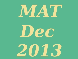 Online Registration for MAT Dec 2013
