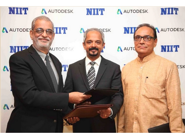 NIIT signs MoU with Autodesk. Inc