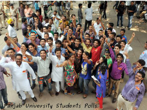 Panjab Varsity students union poll today