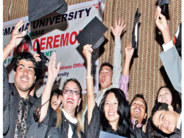 Foreign students awarded degrees: OU