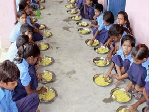 Notice to centre on mid-day meals