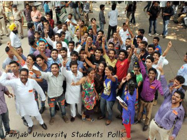 NSUI wins PU students council prez post