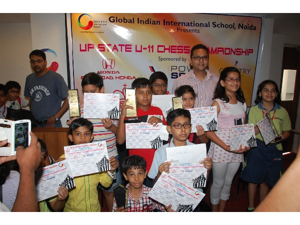 Participants of Chess Competition