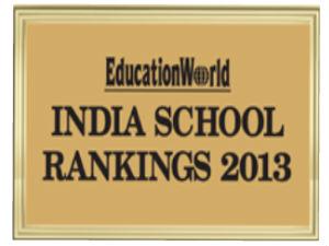 EducationWorld India School Ranking 2013