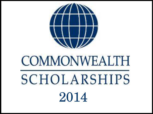 Commonwealth Scholarship 2014 – UK