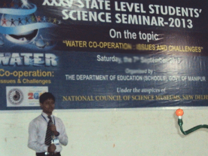 Gujarat Students @ State Science Seminar