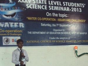 Gujarat Students @ State Science Seminar