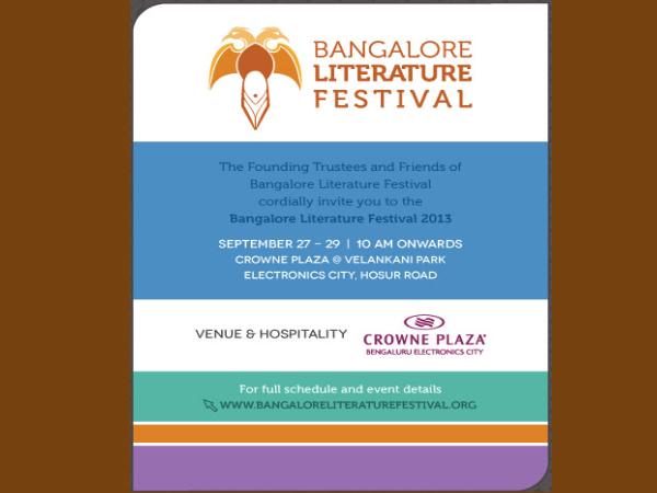 Bangalore Literature Festival 2013