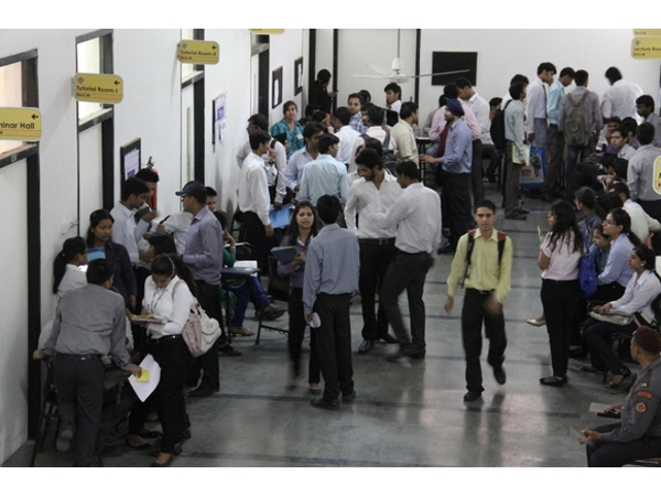 Entrance test to fill MBA vacant seats