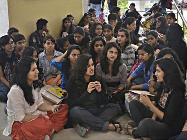 Protest at NIFT-Bangalore campus