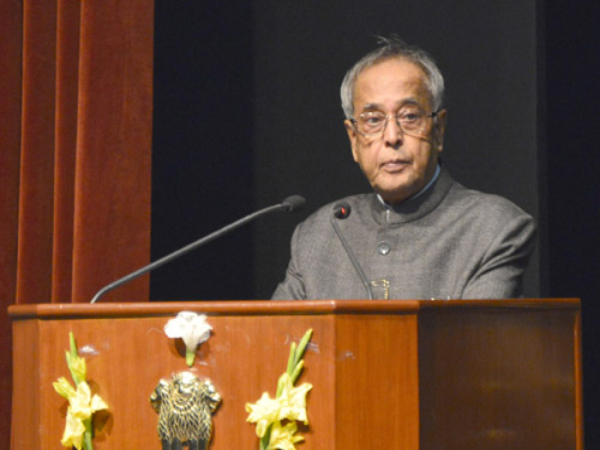 No Indian university at the top: Pranab