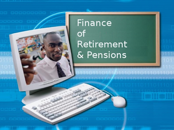 Finance of Retirement online course