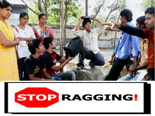 UGC takes action on Ragging in colleges