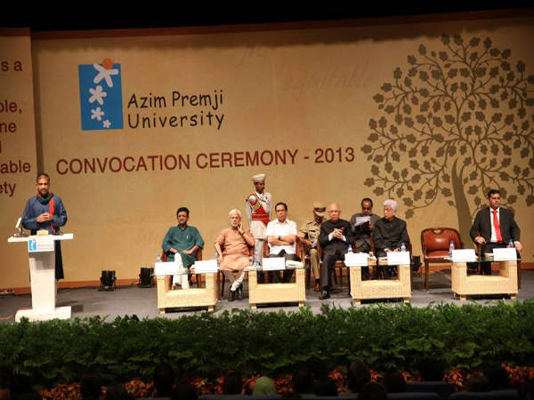 Azim Premji University's 1st convocation