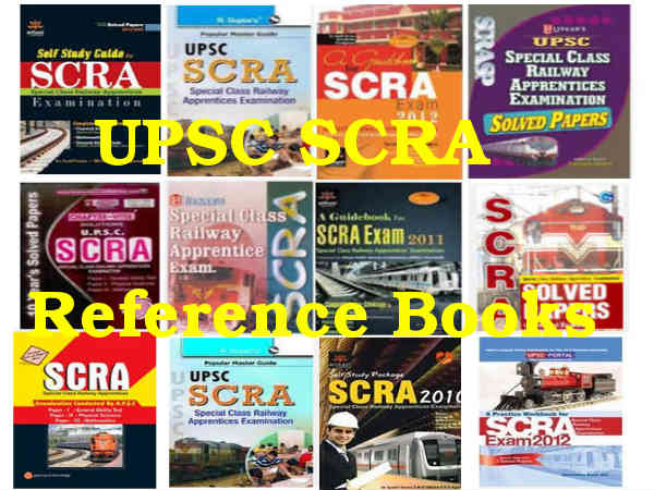 UPSC SCRA 2014 Reference Books