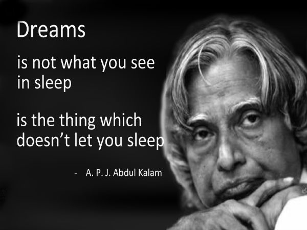 Famous Quotes By Dr A P J Abdul Kalam Careerindia