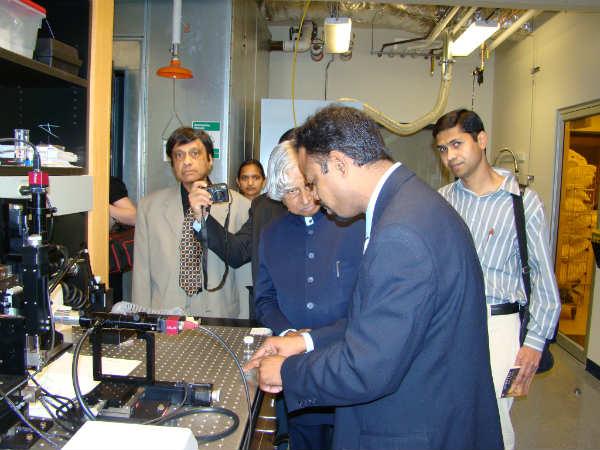 Dr. Kalam's journey as a scientist