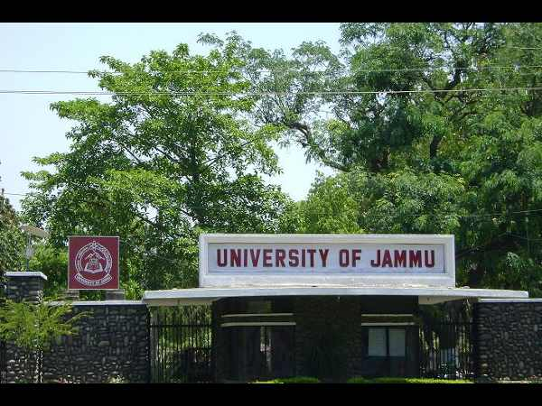 B.Ed Admission at University of Jammu