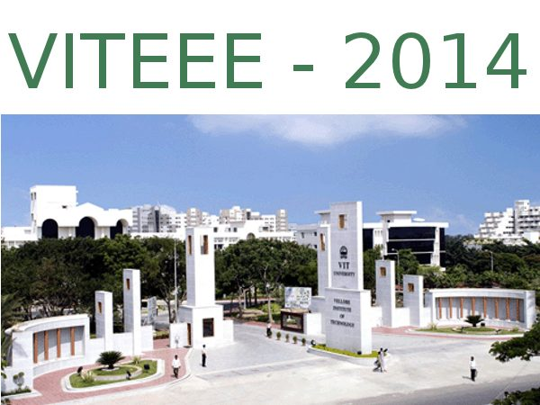 VITEEE 2014 application from 2nd Dec