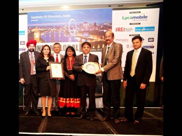GIIS receives Golden Peacock award 2013