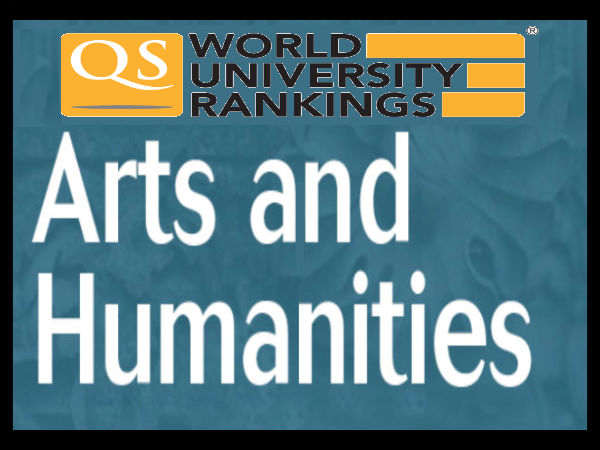 Top 10 varsities for Arts and Humanities