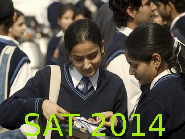 Apply online for SAT January 2014