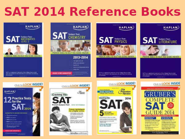 Reference books for SAT 2014