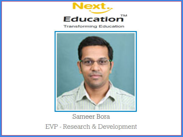 Interaction with Sameer Bora, Next Edu'n