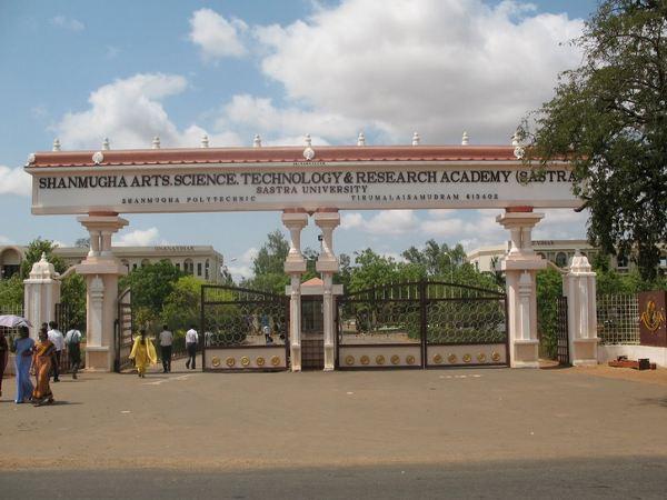 B.Ed admission at Sastra University