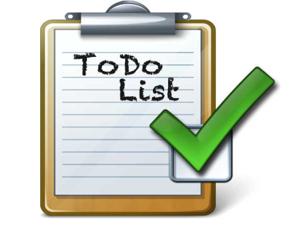 Useful check-list tips for students