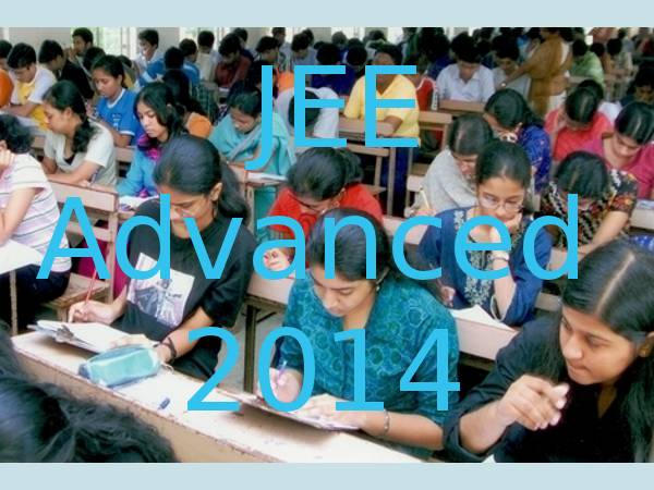 JEE Advanced 2014 exam on 25 May