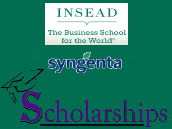 INSEAD Syngenta Endowed Scholarships