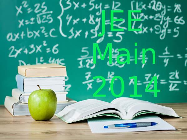JEE Main 2014 exam Pattern