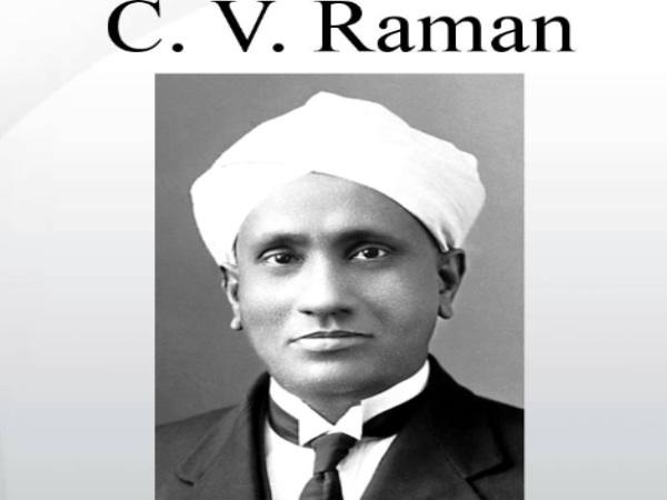 CV Raman's Education background