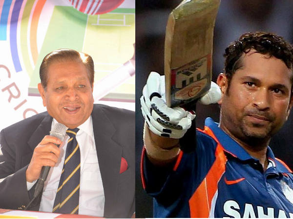 Tribute to Sachin by Cricketer Chandu Borde
