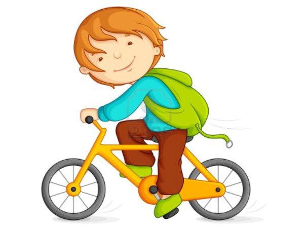 Cycling to school