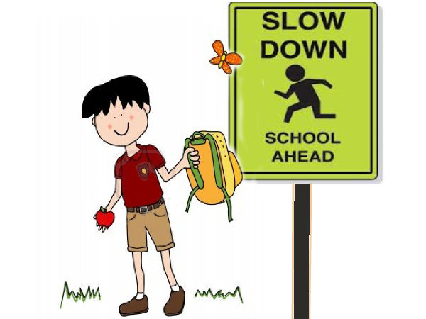 Go Slow- School Ahead
