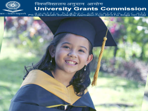PG Indira Gandhi Scholarship for Single Girl Child
