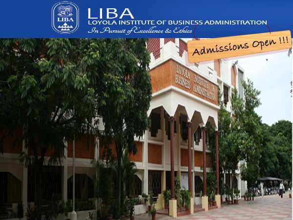 LIBA-Chennai offers PGDM Admissions 2014