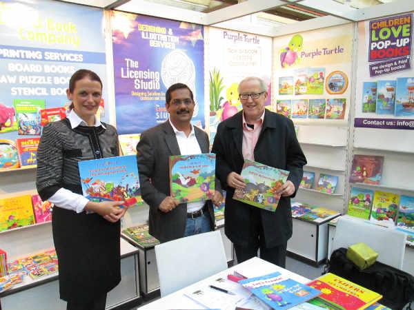 Purple Turtle shines at Frankfurt Book Fair 2013